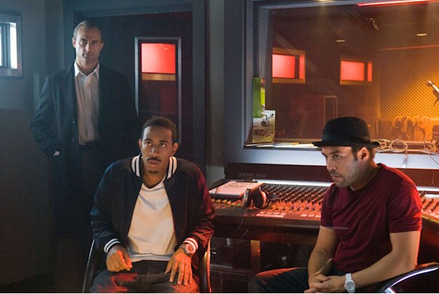 Chris 'Ludacris' Bridges Jeremy Piven RocknRolla Production Stills Warner Bros. 2008