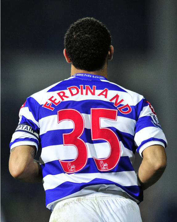 Queen's Park Rangers' English Defender Anton Ferdinand Runs   AFP/Getty Images
