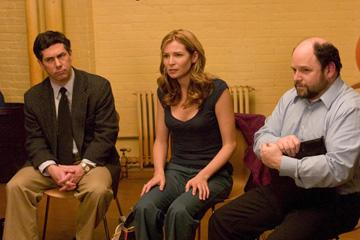 Chris Parnell , Jennifer Westfeldt and Jason Alexander in Magnolia Pictures' Ira & Abby