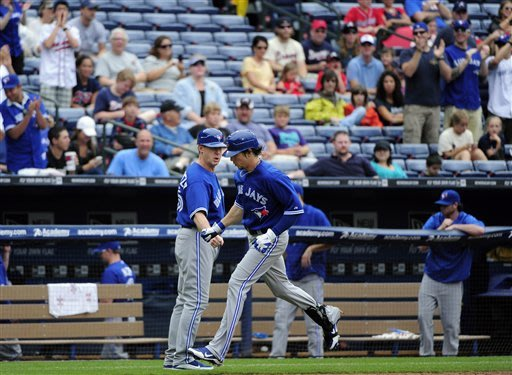 Teheran, Braves fall to Blue Jays, 12-4