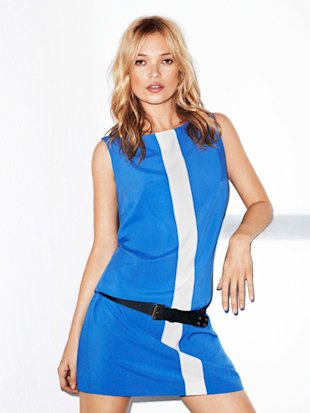Kate Moss sizzles in Mango