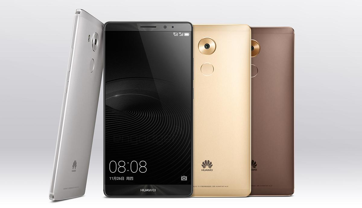The brand new Huawei Mate 8 has an ultrapowerful processor