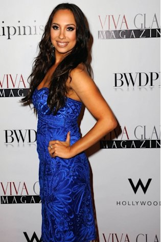 Cheryl Burke arrives for Cheryl Burke Hosts Viva Glam Magazine&#39;s November Issue in Hollywood, Calif. on October 29, 2012 -- Getty Premium