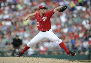 Strasburg drops to 1-5 as Cubs beat Nationals 8-2