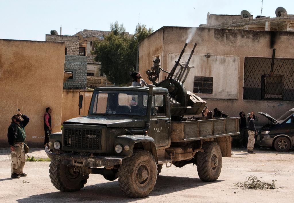 At least 71 dead as rebels advance on Syria's Idlib: monitor