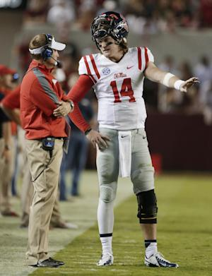 No. 24 Mississippi tries bouncing back after loss