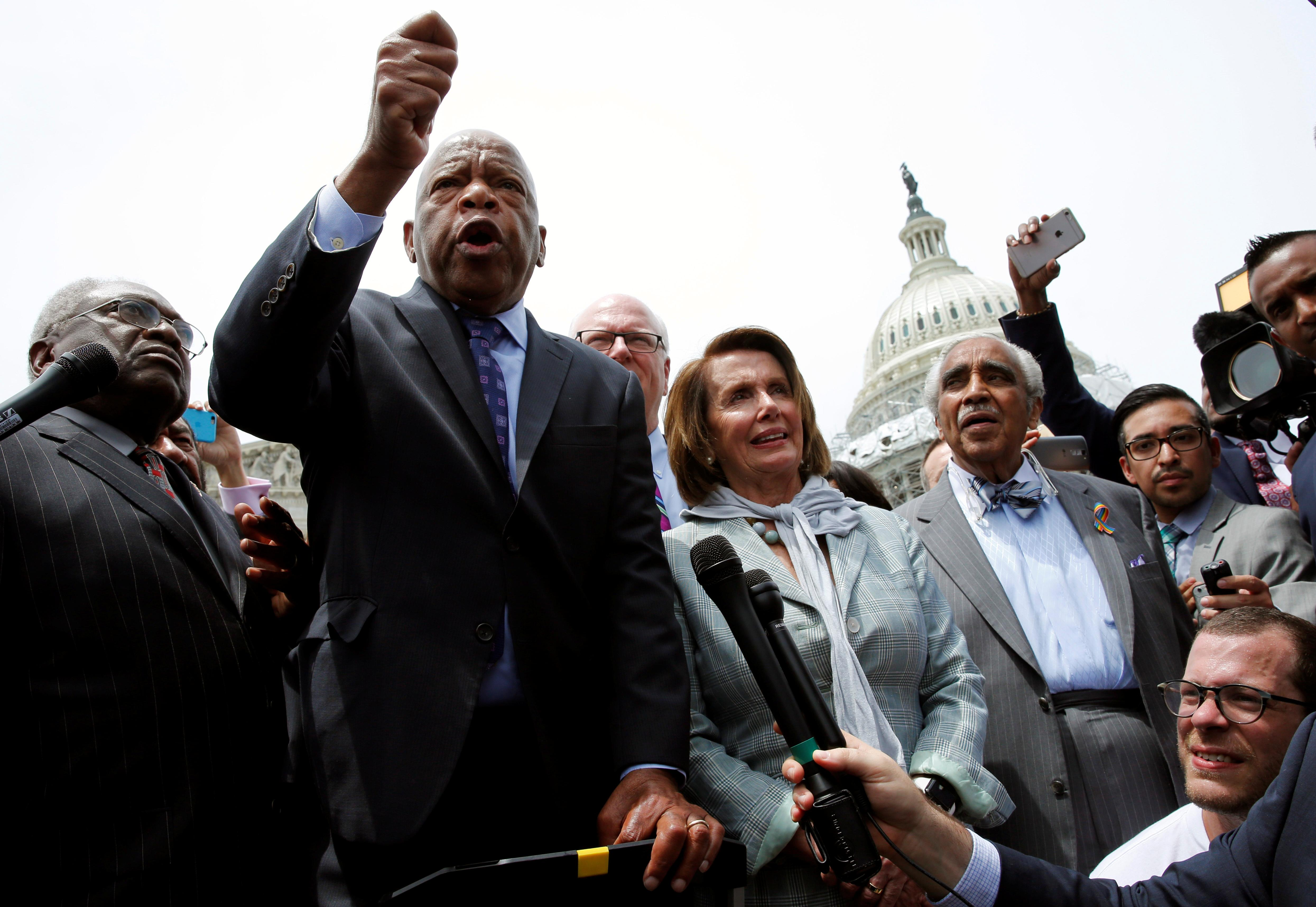 The Democrats' 25-hour gun-control sit-in didn't have anything to do with gun control