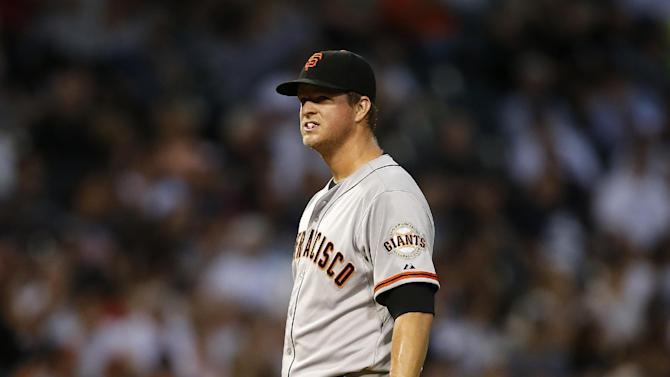 Matt Cain searches for answers