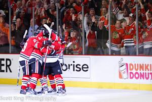 Chicago Blackhawks Score Five Goals... Again