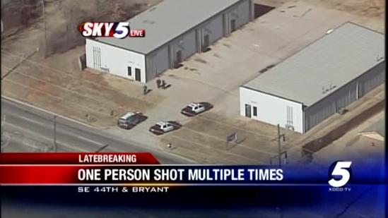 Police investigate shooting in SE Oklahoma City