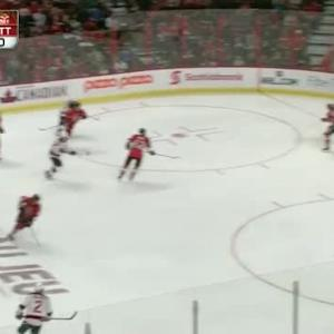 Robin Lehner Save on Bryce Salvador (04:31/2nd)