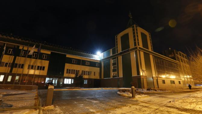 "An exterior view of Carlsberg brewery ""Baltika-Pikra"" factory is seen in Krasnoyarsk"