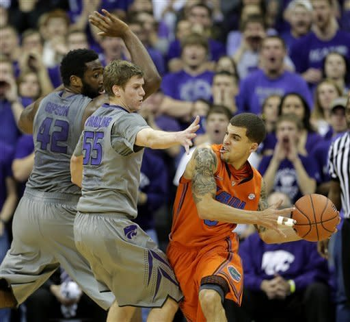 Spradling helps K-State beat No. 8 Florida 67-61