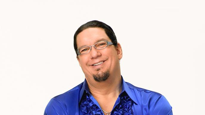 Illusionist Penn Jillette partners with professional dancer Kym Johnson for Season 6 of Dancing with the Stars.