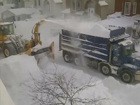 Genius Way to Remove Snow