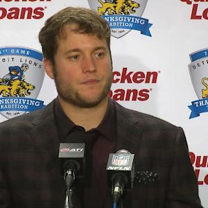 Detroit Lions postgame press conference