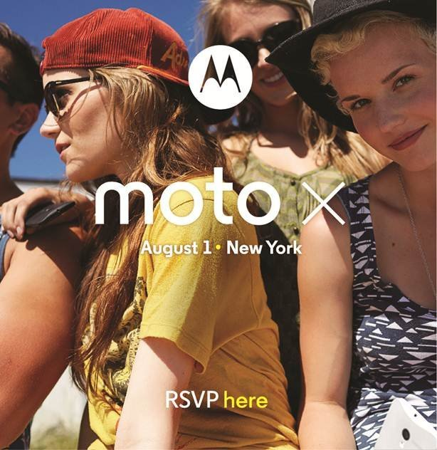 motorola moto x invitation august 1 2013