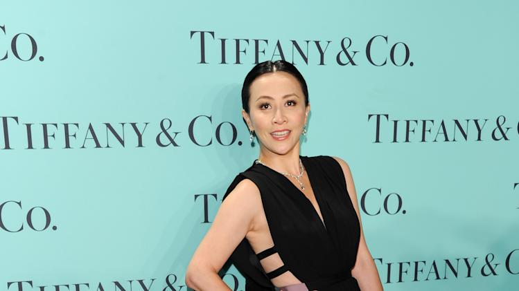 Chinese actress Carina Lau attends the Tiffany & Co. Blue Book Ball at Rockefeller Center on Thursday April 18, 2013 in New York. (Photo by Evan Agostini/Invision/AP)