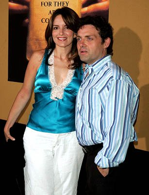 Premiere: Tina Fey at the NY premiere of Touchstone's The Village - 7/26/2004