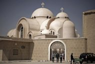 &lt;p&gt;Egyptians leave the Saint Bishoy monastery, the final resting place of Egypt&#39;s Coptic Pope Shenuda, in Wadi Natrun in the Beheira province, about 100 kms (60 miles) northwest of Cairo, in March 2012. The United States on Monday accused Egypt, China and European nations of harming religious freedom, citing a rising tide of anti-Semitism, laws banning Muslim veils and attacks on Coptic Christians.&lt;/p&gt;