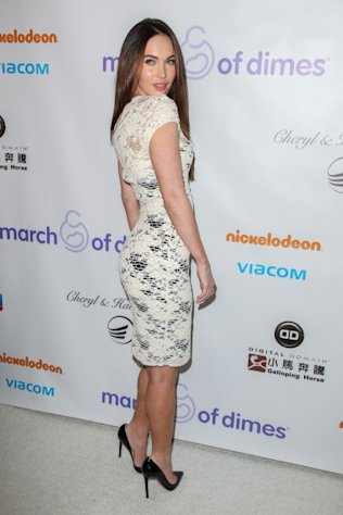 Megan Fox arrives at the March Of Dimes&#39; Celebration Of Babies held at the Beverly Hills Hotel in Beverly Hills on December 7, 2012 -- Getty Images
