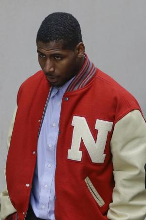 Patriots' Dennard reports to Nebraska jail