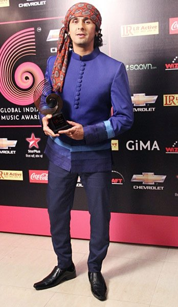 Bollywood's top stars at the GIMA awards