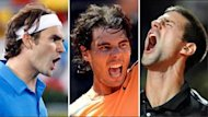 Dreikampf um die Tennis-Krone: Roger Federer, Rafael Nadal und Novak Djokovic