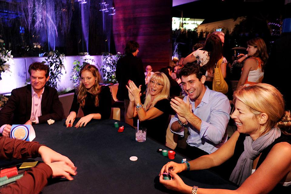 "James Wolk of ""Lone Star"" is among the guests at the 2010 Fox Fall Eco-Casino party on September 13, 2010, at Boa in West Hollywood."