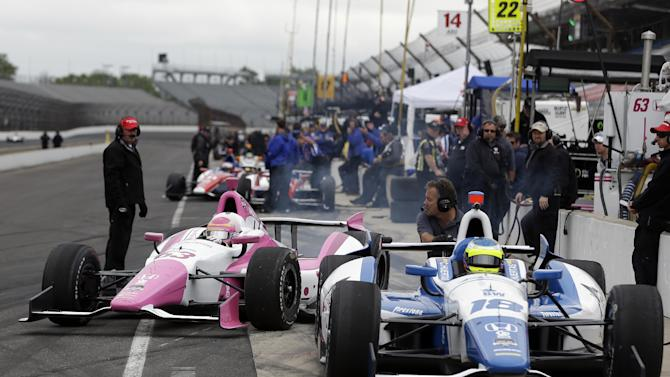 Pagenaud tops speed chart at strange Indy practice