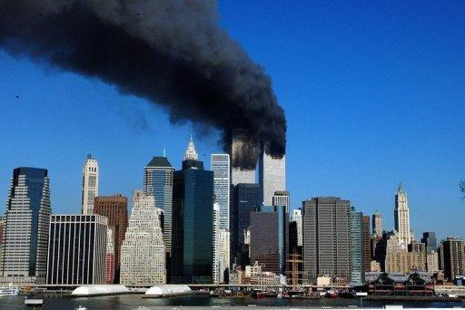 The twin towers of the World Trade Center billow thick smoke after hijacked airliners were crashed into them on 11 September, 2001. Saudi terror kingpin and Al-Qaeda leader Osama bin Laden is dead, a US official has confirmed