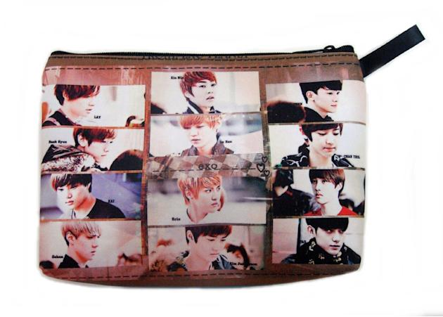 EXO Boy Band Kpop Cosmetic Bag ($15.99, amazon.com)