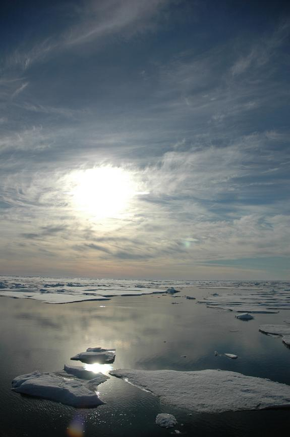 Arctic Sea Ice Melt Disrupts Weather Patterns
