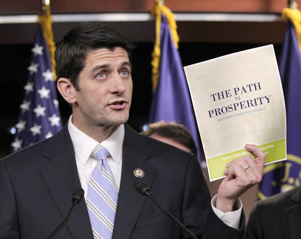 Ryan traveled perilous budget path to VP spot