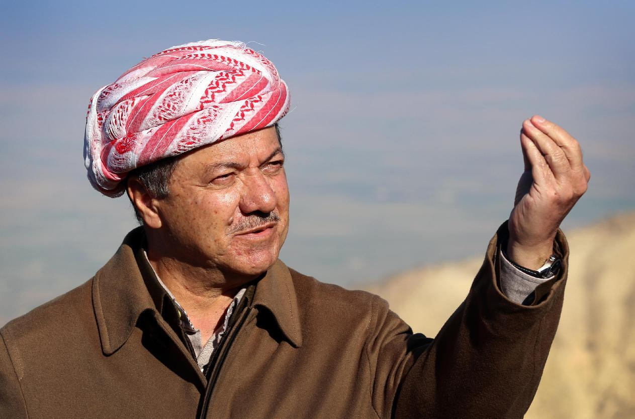 Iraq Kurd chief hails advances in anti-jihadist battle