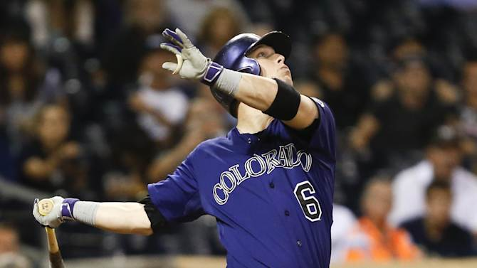 Stults pitches streaking Padres past Rockies 1-0