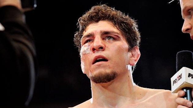 Nick Diaz of the USA