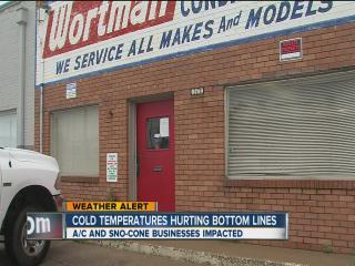 Cold Weather and Local Business