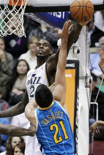 Millsap leads Jazz over Hornets 104-99