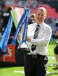 John Sheridan led Chesterfield to their first ever Johnstone's Paint Trophy title last season