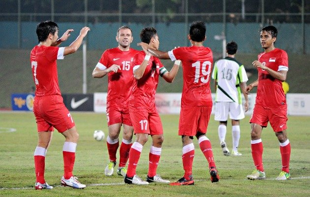 Singapore face bitter rivals Malaysia in their opening 2012 AFF Suzuki Cup game. (Photo courtesy of FAS)