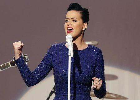 Katy Perry lights the way for Super Bowl's girl power moment