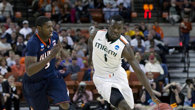 NCAA Basketball: NCAA Tournament-Illinois vs Miami