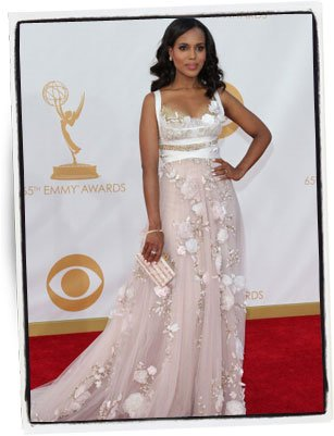 Kerry Washington en la entrega de los Premios Emmy 2013 - Foto: Dan MacMedan │Getty Images