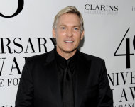FILE - This May 21, 2012 file photo shows weatherman Sam Champion from &quot;Good Morning America&quot; attending the FiFi Fragrance Awards at Alice Tully Hall in New York. ABC News says Champion and his boyfriend, Rubem Robierb, are engaged to be married later this year. Champion tweeted Friday, Oct. 5, that he&#39;s never been happier to share a bit of personal news. Champion and Robierb met through mutual friends in Miami, where Robierb lives, according to ABC. Born in Brazil, Robierb is a fine-arts photographer who shows his work in Miami, Atlanta, Santa Monica and New York. (AP Photo/Evan Agostini, file)
