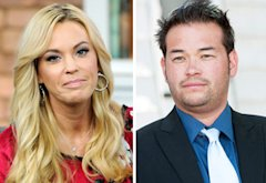 Kate Gosselin, Jon Gosselin | Photo Credits: George Pimentel/WireImage; Dave Kotinsky/Getty Images