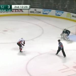 Antti Niemi Save on Andrew Cogliano (07:36/2nd)
