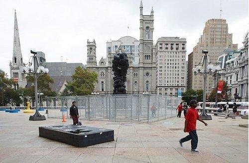 Now You Can Go to Jail Before Entering City Hall, For Art