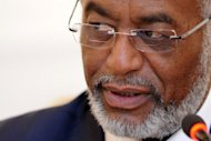 Sudanese Foreign Minister Ali Ahmed Karti, pictured in March 2012. A Chinese envoy was in Khartoum for talks on Sunday after his country backed a UN resolution that aims to halt border fighting between Sudan and South Sudan
