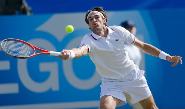 Jeremy Chardy Of France Plays AFP/Getty Images